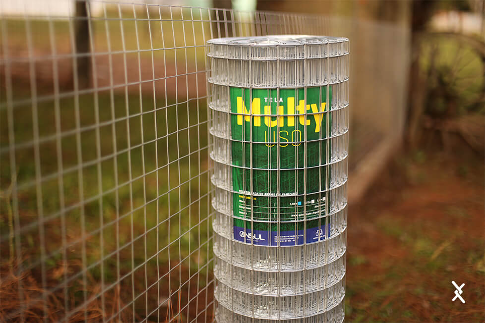 Tela Soldada Multy Uso fio 1,65mm malha 5x5cm